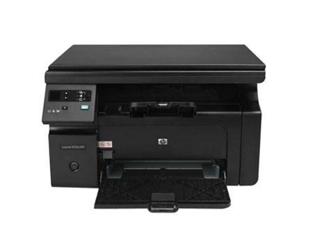 惠普M1136 黑白多功能激光打印机一体机