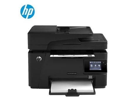 惠普HP 打印机 M128fw 黑白激光打印机一体机